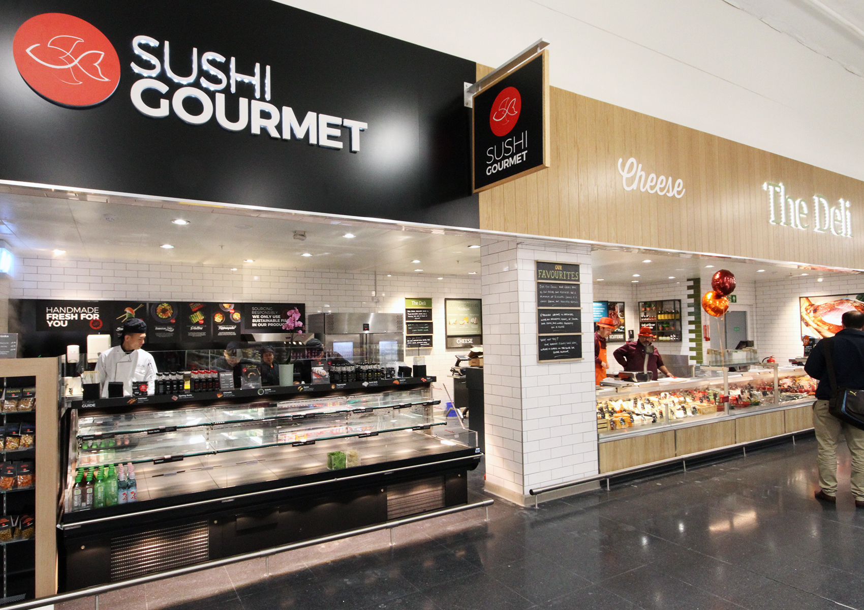 Sushi and deli